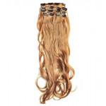 Kit extension à clips Ondulé 55cm Couleur #14 - Blond foncé 901-14-55