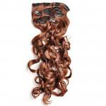 Kit extension à clips Bouclé 55cm Couleur #30 - Châtain cuivre doux 902-30-55
