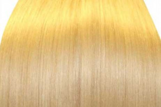 KitQueen Lisse 40cm Couleur #613 - Blond platine 903-613-40