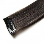 Mèche extension à clips 3 clips 55cm Couleur #4 - Châtain foncé 804-4-55