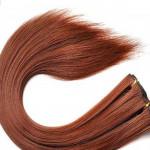 Kit extension à clips Lisse 45cm Couleur #30 - Châtain cuivre doux 900-30-45