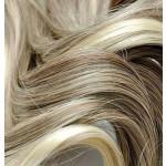 Kit extension Volume + Bouclé 55cm Couleur #4/613 - Châtain foncé méché blond clair MV902-4/613-55