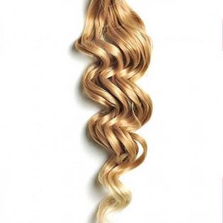 Kit extension à clips Bouclé 70cm Couleur #27T/613 - Blond méché 902-27T/613-70