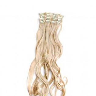 Kit extension Volume + Ondulé 55cm Couleur #24 - Blond doré MV901-24-55