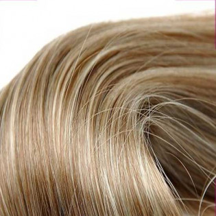 Kit extension Luxe Lisse 55cm Couleur #6/613 - Châtain clair méché blond LUXE-100-6/613-55
