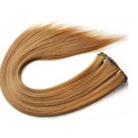 Kit extension à clips Lisse 45cm Couleur #16 Châtain noisette) 900-16-45