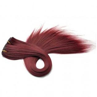 Kit extension à clips Lisse 45cm Couleur #37 - Acajou 900-37-45