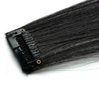 Mèche extension à clips 3 clips 55cm Couleur #2 - Noir Brun 804-2-55