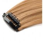 Mèche extension à clips 2 clips 55cm Couleur #27 - Blond moyen 801-27-55