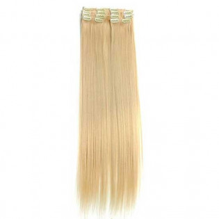 Kit extension à clips Lisse 55cm Couleur #24 - Blond doré 900-24-55