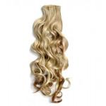 Kit extension à clips Bouclé 55cm Couleur #6/613 - Châtain clair méché blond 902-6/613-55