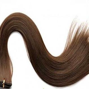 Tissage Lisse 45cm Couleur #8 - Chocolat HW00-8-45