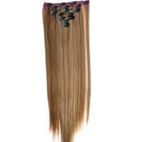 Kit extension à clips Lisse 55cm Couleur #6/613 - Châtain clair méché blond 900-6/613-55