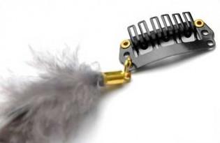 Extension plume 35 Couleur Grise FE-WHITE-40