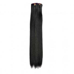 Kit extension à clips Lisse 70cm Couleur #2 - Noir Brun 900-2-70