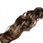 Tissage Ondulé 45cm Couleur #8 - Chocolat HW01-8-45