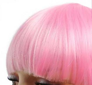 Frange à clips 15cm Couleur #Rose 803-PINK