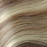 Kit extension Luxe Lisse 55cm Couleur #4/613 - Châtain foncé méché blond clair LUXE-100-4/613-55