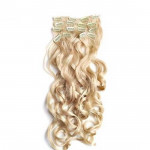 Kit extension à clips Bouclé 55cm Couleur #24 - Blond doré 902-24-55