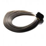 Kit extension à clips Lisse 45cm Couleur #1B/27 - Brun méché châtain/blond 900-1B/27-45