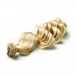 Kit extension à clips Bouclé 45cm Couleur #613 - Blond platine 902-613-45
