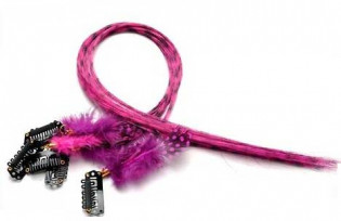 Extension plume 35 Couleur Rose FE-PINK-40