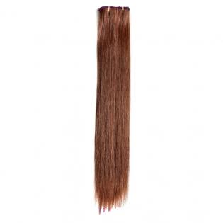 Kit extension à clips Lisse 70cm Couleur #5 - Châtain moyen cuivré 900-5-70