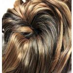Kit extension Luxe Bouclé 55cm Couleur #1B/27 - Brun méché châtain/blond LUXE-102-1B/27-55