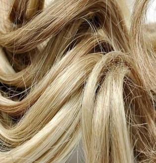 Kit extension Luxe Bouclé 55cm Couleur #6/613 - Châtain clair méché blond LUXE-102-6/613-55