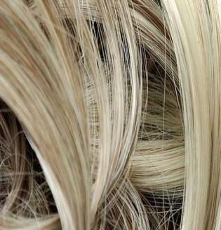 Kit extension Luxe Bouclé 55cm Couleur #4/613 - Châtain foncé méché blond clair LUXE-102-4/613-55