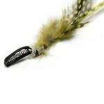 Extension plume 35cm Couleur Jaune FE-YELLOW-40