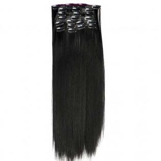 Kit extension à clips Lisse 55cm Couleur #2 - Noir Brun 900-2-55