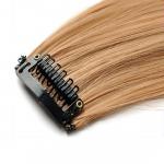 Mèche extension à clips 2 clips 55cm Couleur #22 - Blond moyen/clair 801-22-55
