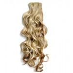 Kit extension à clips Bouclé 70cm Couleur #6/613 - Châtain clair méché blond 902-6/613-70