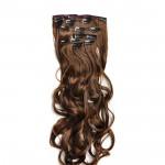 Kit extension à clips Ondulé 55cm Couleur #8 - Chocolat 901-8-55