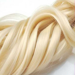 Kit extension Luxe Ondulé 55cm Couleur #613 - Blond platine LUXE-101-613-55
