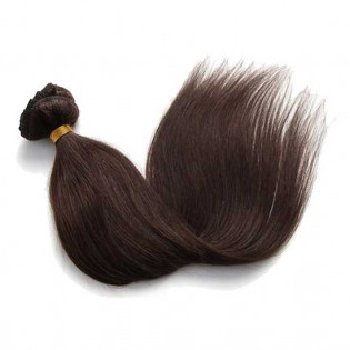 Kit extension naturel diamond lisse 55cm Couleur #2N - Châtain BH00-2-55 de Thequeenwigs