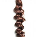 Kit extension à clips Bouclé 70cm Couleur #5 - Châtain moyen cuivré 902-5-70
